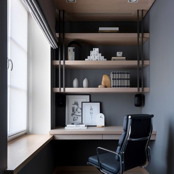 Customized Study Room Working Room Singapore (14)