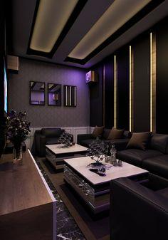 home ktv kalaok design and ideas and home cinema design (2)