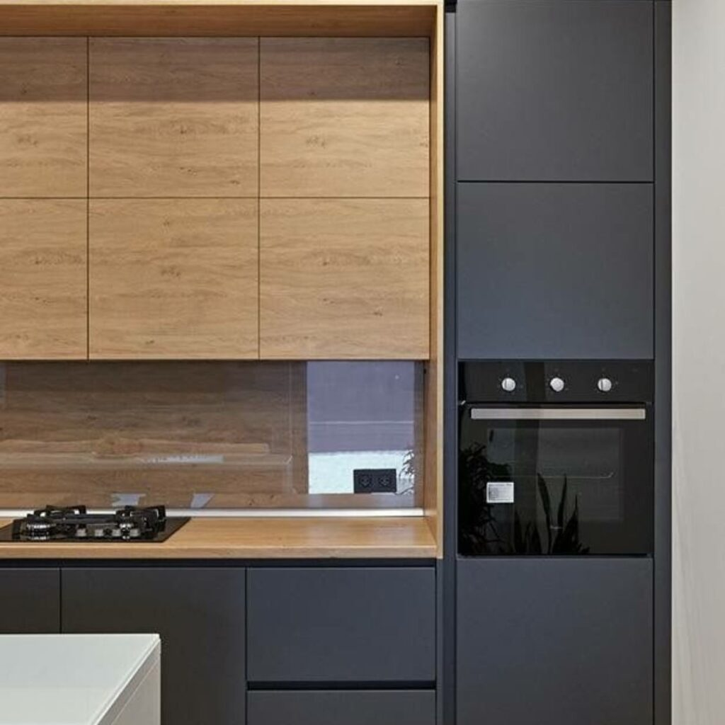 Customized Modern Concise Kitchen Cabinets Singapore (17)