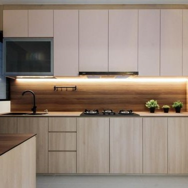 Customized Modern Concise Kitchen Cabinets Singapore (2)