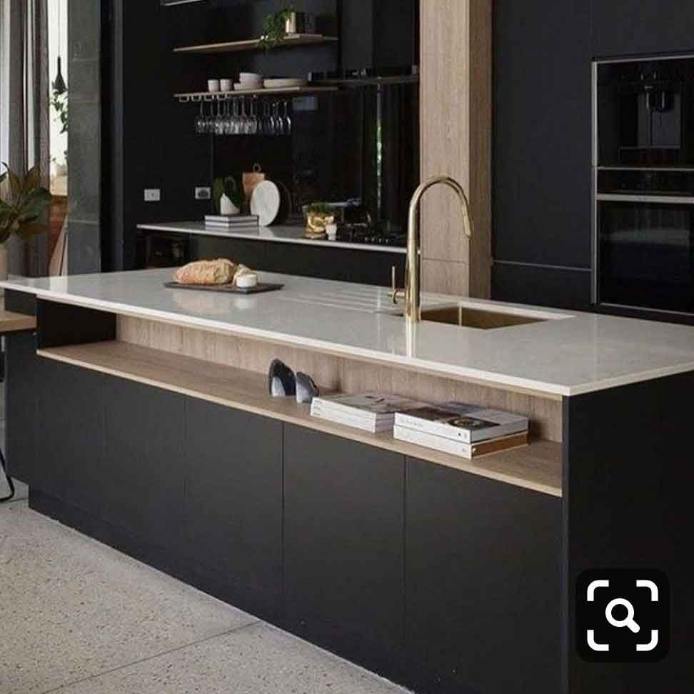 Customized Modern Concise Kitchen Cabinets Singapore (3)