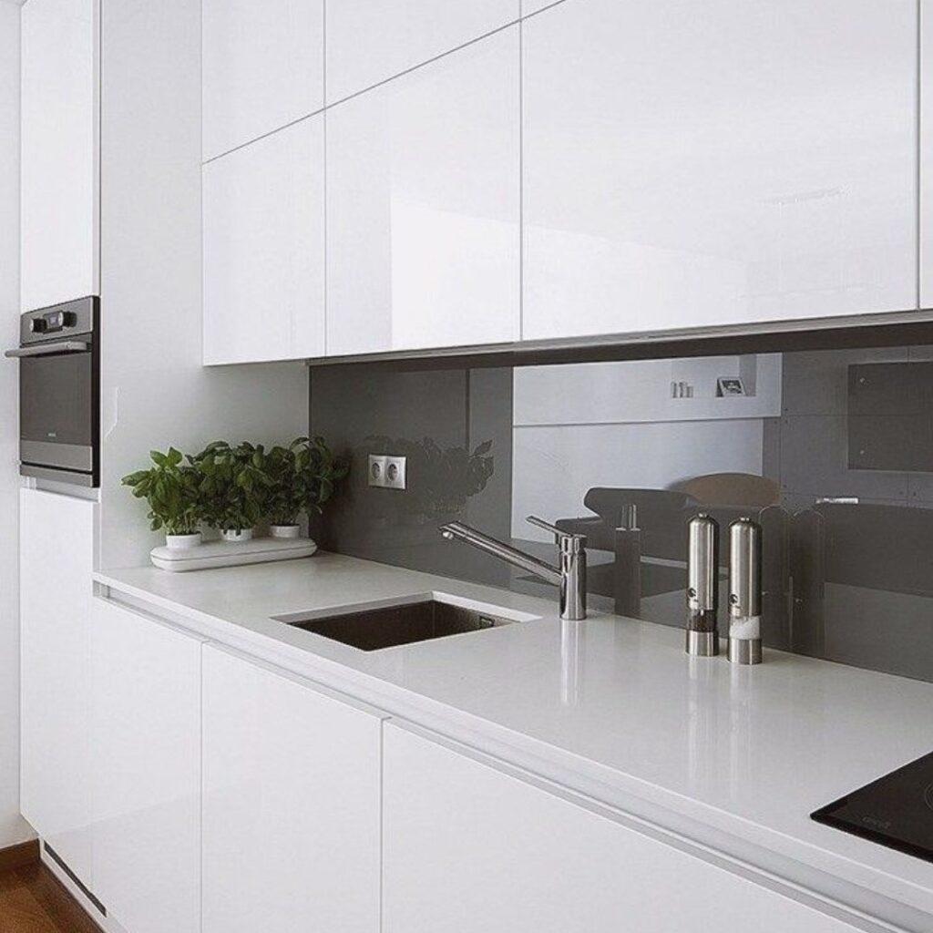 Customized Modern Concise Kitchen Cabinets Singapore (6)