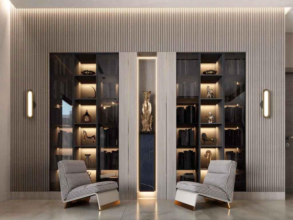 display cabinet 113