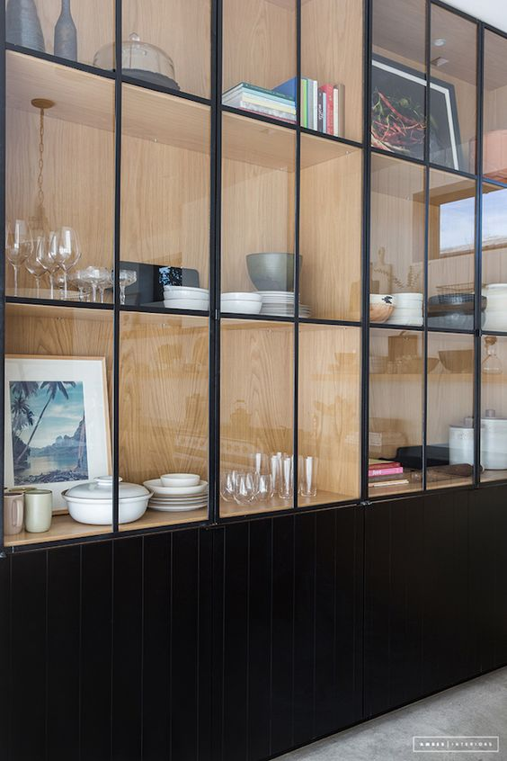 display cabinet 22