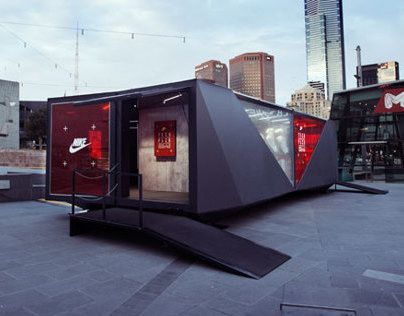container booth interior design and fit out works (7)