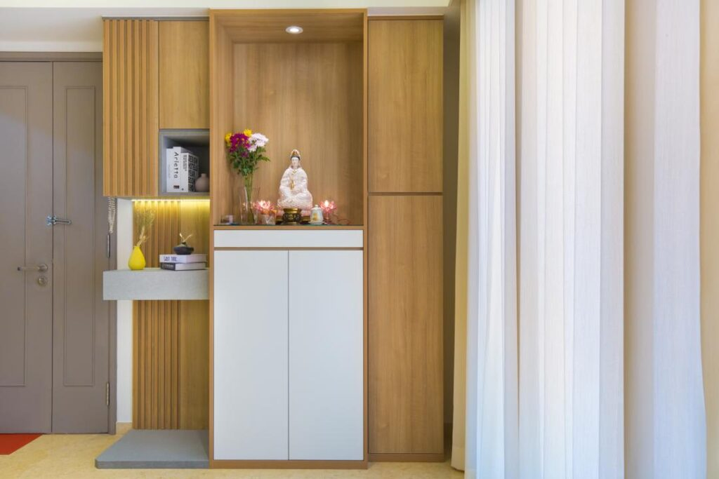 prayer altar cabinet custom made (4)