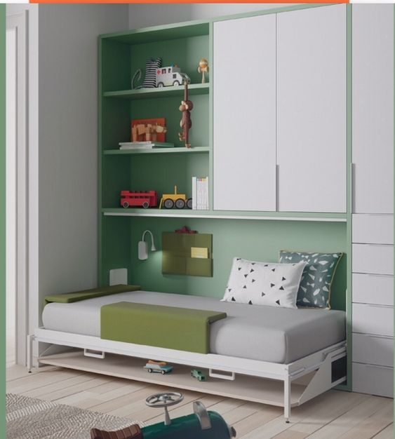 space saving bed for kids and maid room or utility room (12)