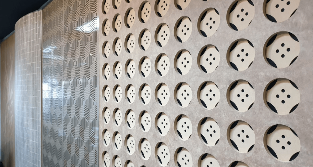 timber CNC nesting routering cutting services acoustic panels designs (2)
