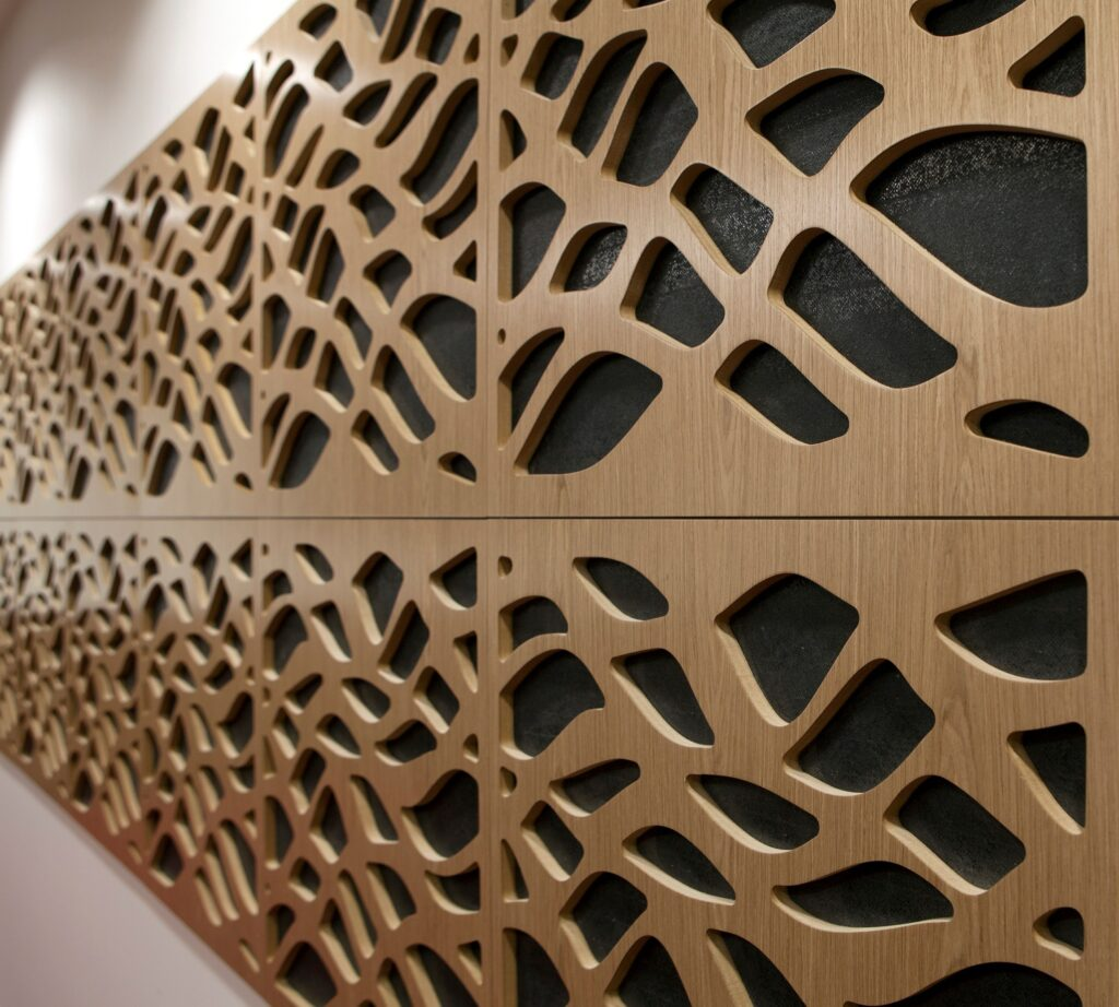 timber CNC nesting routering cutting services acoustic panels designs (26)