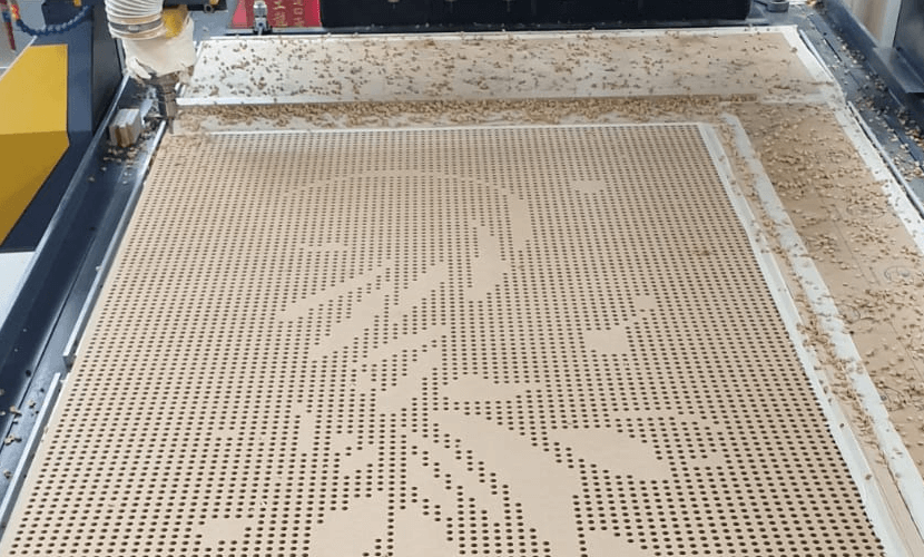 timber CNC nesting routering cutting services acoustic panels designs (6)